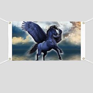 Black Pegasus Banner