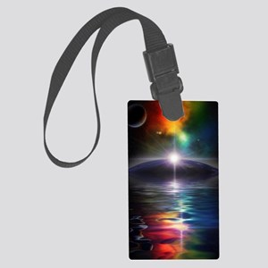 Deep Space Fantasy Large Luggage Tag