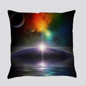 Deep Space Fantasy Everyday Pillow