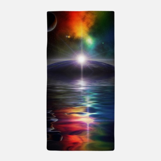 Deep Space Fantasy Beach Towel