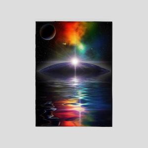 Deep Space Fantasy 5'x7'Area Rug