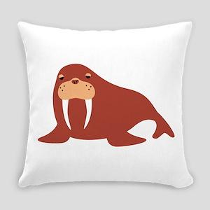 Walrus Animal Everyday Pillow