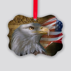 We The People Picture Ornament