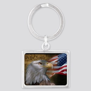 We The People Landscape Keychain