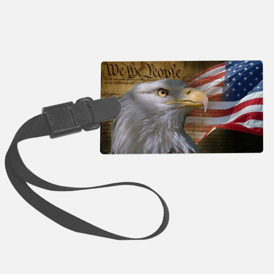 We The People Large Luggage Tag
