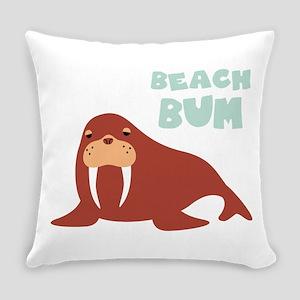 Beach Bum Everyday Pillow