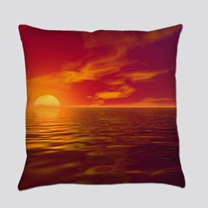 Dawn and Dusk Everyday Pillow