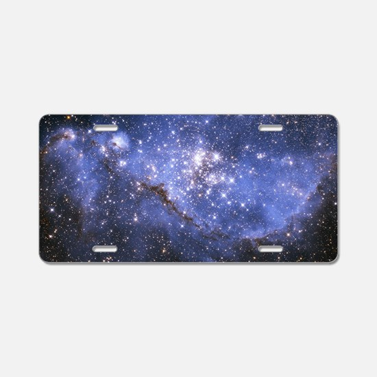 Magellan Nebula Aluminum License Plate