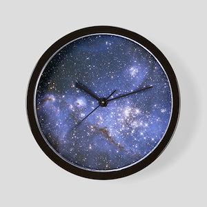 Magellan Nebula Wall Clock