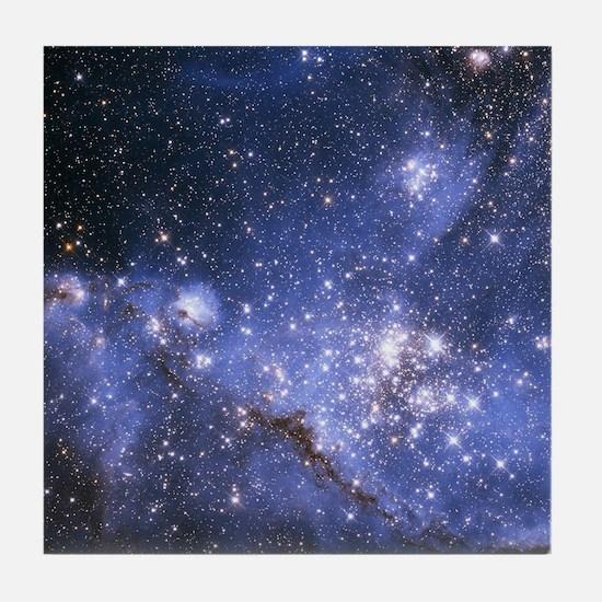 Magellan Nebula Tile Coaster