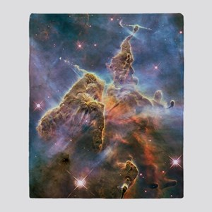 Carina Nebula Throw Blanket