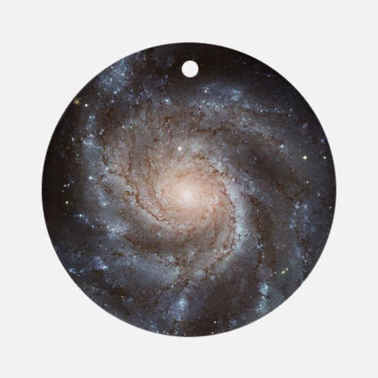 Spiral Galaxy (M101) Round Ornament