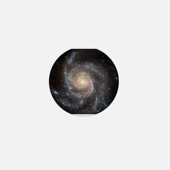 Spiral Galaxy (M101) Mini Button