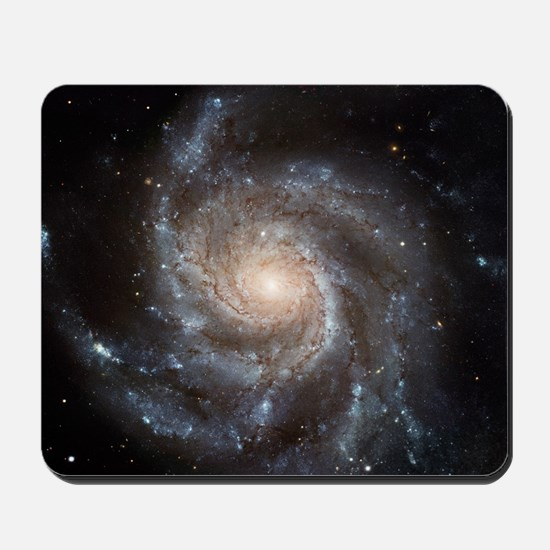 Spiral Galaxy (M101) Mousepad
