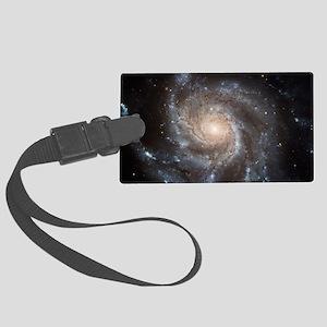 Spiral Galaxy (M101) Large Luggage Tag