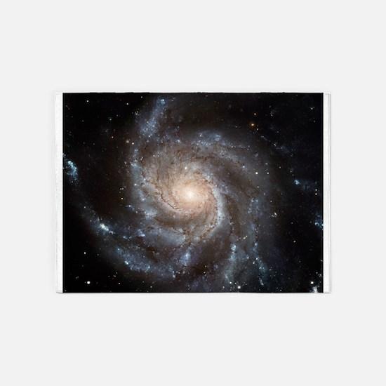 Spiral Galaxy (M101) 5'x7'Area Rug