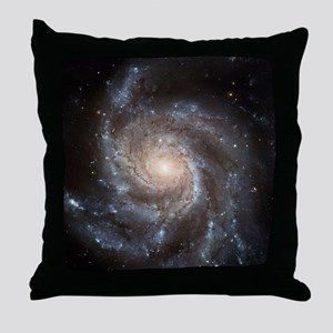 Spiral Galaxy (M101) Throw Pillow