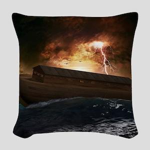 Noahs Ark Woven Throw Pillow