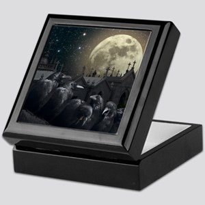 Gothic Crows Keepsake Box