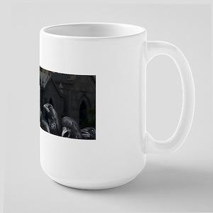 Gothic Crows Large Mug