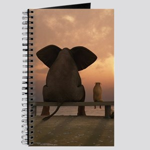Elephant and Dog Friends Journal