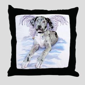 Merle Dane Angel UC Throw Pillow