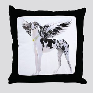 Harle Dane Angel UC Throw Pillow