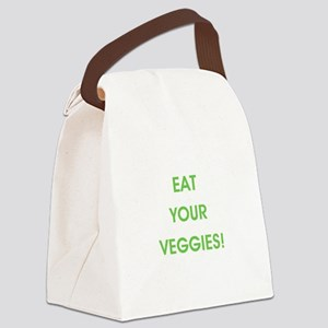 EAT YOUR VEGGIES! Canvas Lunch Bag