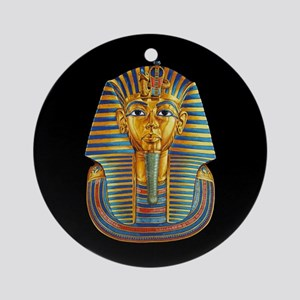 King Tut Round Ornament