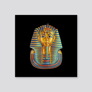 "King Tut Square Sticker 3"" x 3"""
