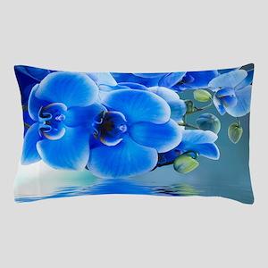 Blue Orchids Pillow Case