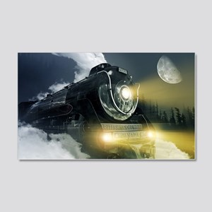 Steam Locomotive 20x12 Wall Decal