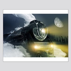 Steam Locomotive Small Poster