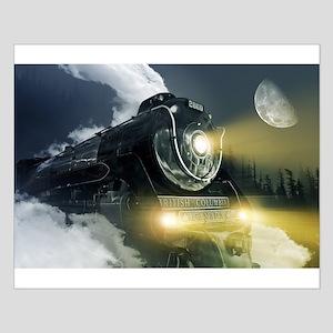 Steam Locomotive Small Poster
