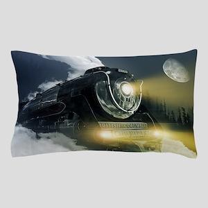 Steam Locomotive Pillow Case