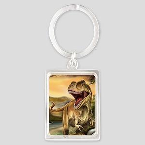 Predator Dinosaurs Portrait Keychain