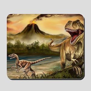 Predator Dinosaurs Mousepad