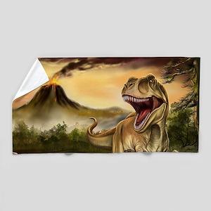 Predator Dinosaurs Beach Towel
