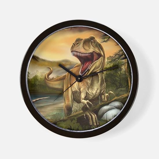 Predator Dinosaurs Wall Clock