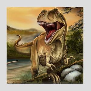 Predator Dinosaurs Tile Coaster