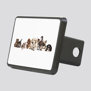 Cute Pet Panorama Rectangular Hitch Cover