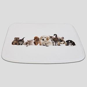 Cute Pet Panorama Bathmat