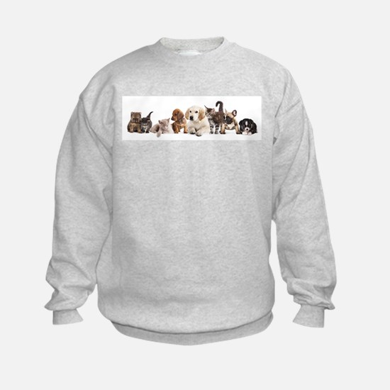 Cute Pet Panorama Sweatshirt