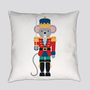 Nutcracker Ballet Story Mouse King Everyday Pillow