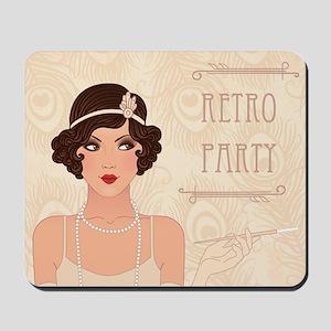 Charleston Retro Party Mousepad