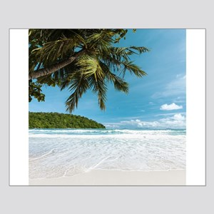 Tropical Palm Beach Small Poster