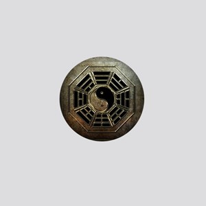 Yin Yang Bagua Mini Button