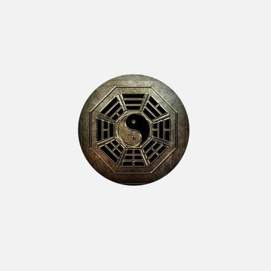 Yin Yang Bagua Mini Button