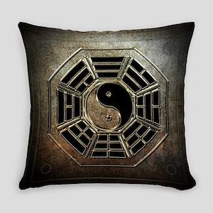 Yin Yang Bagua Everyday Pillow