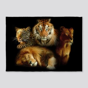 Wild Predators 5'x7'Area Rug